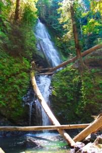 Murhut Falls Olympic National Forest 2