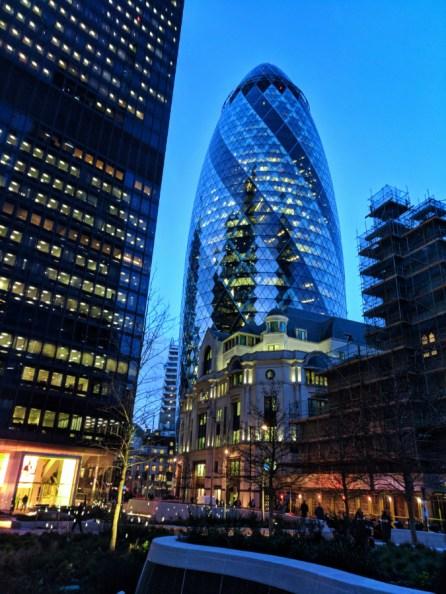 The Egg skyscraper downtown London UK 1