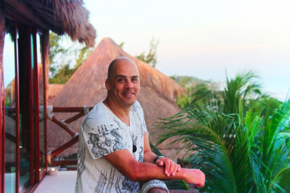 Victor Varana Portrait at Villas Flamingos Isla Holbox Yucatan 1