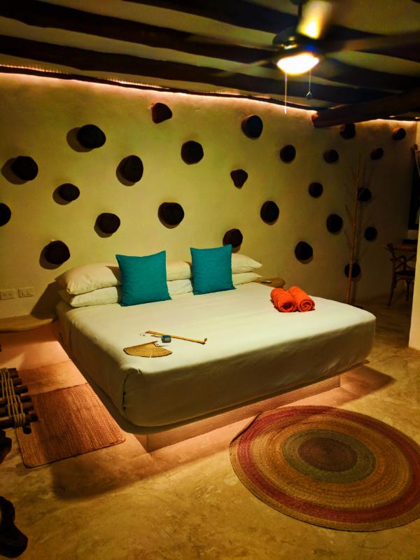 Villas Flamingos King Room Isla Holbox Yucatan Yoga Retreat 2