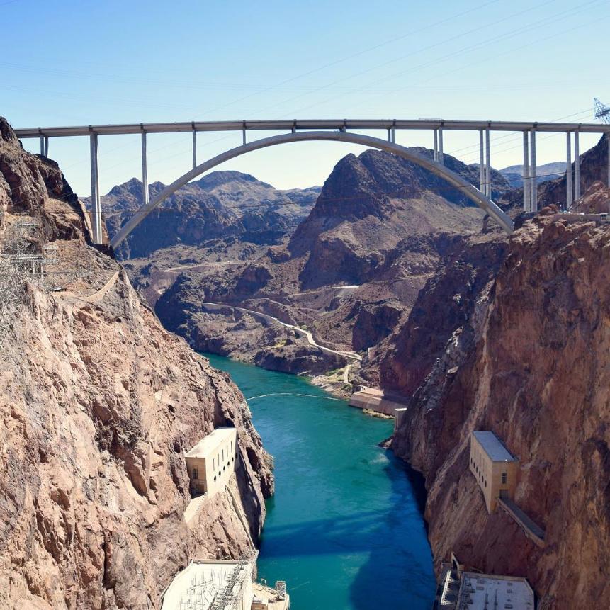Bridge at Hoover Dam Las Vegas from 2DadsWithBaggage 1