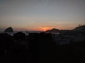 Sunset at Pacific City Oregon Coast VRBO 2