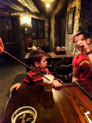 Taylor Family Butterbeer Wizarding World of Harry Potter Island of Adventure Universal Orlando 1