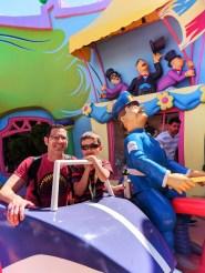 Taylor Family Mulberry Street Seuss Landing Universal Islands of Adventure Orlando 2
