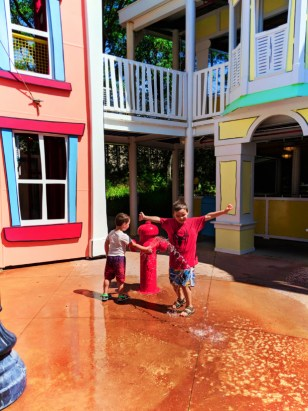 Taylor Family at Curious George Waterpark Universal Studios Floria 2