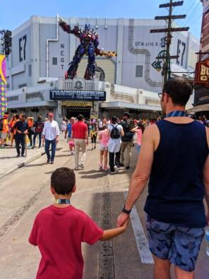 Taylor Family at Transformers ride Universal Studios Florida 1