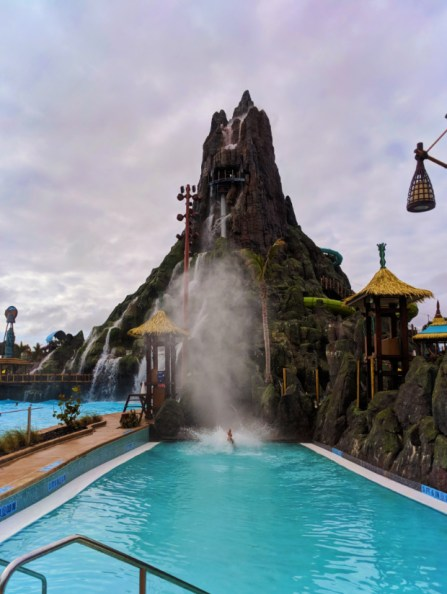 Taylor Family on Krakatau water slide at Universal Volcano Bay Water Theme Park Orlando 2