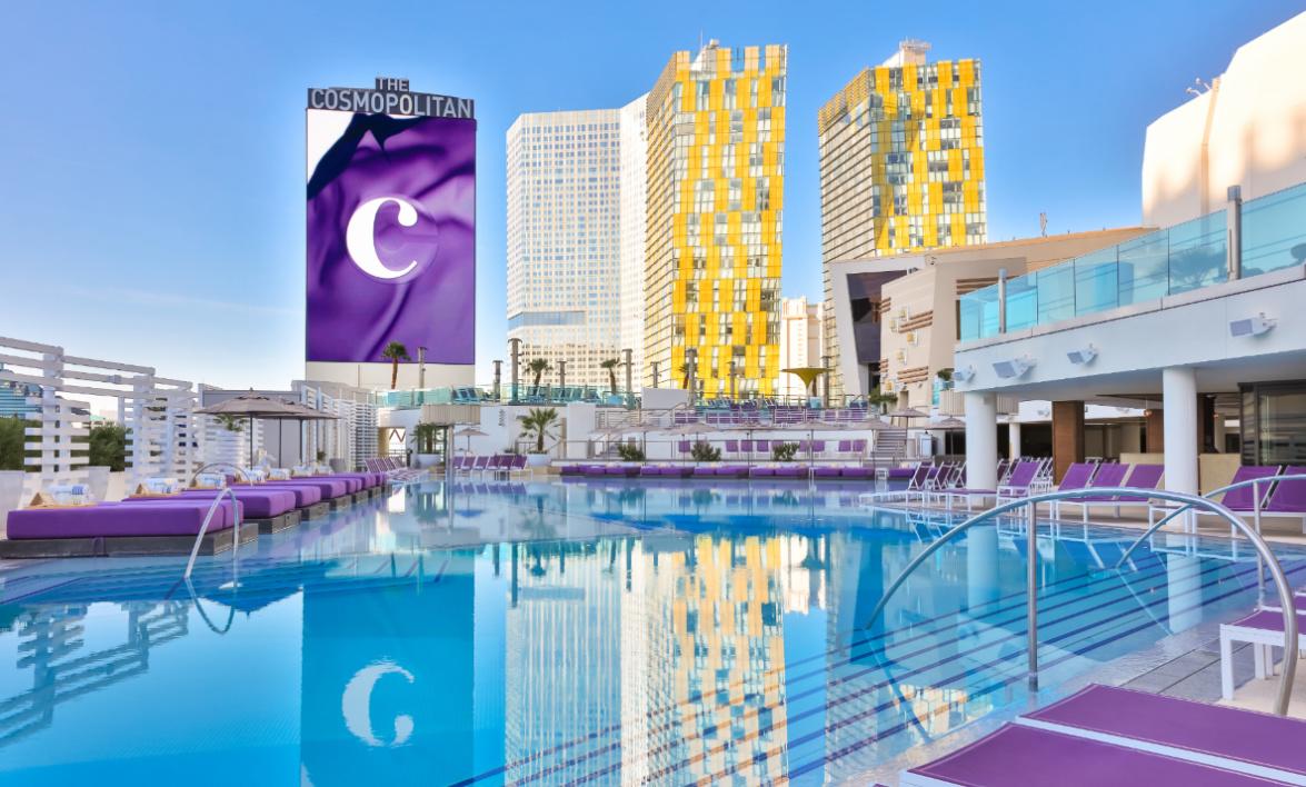 The Cosmopolitan of Las Vegas Boulevard Pool