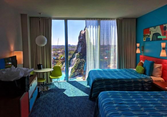 Two Queen Room in Beachside Tower Universal Cabana Bay Resort Orlando 2