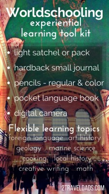 Worldschooling Experiential learning toolkit pin