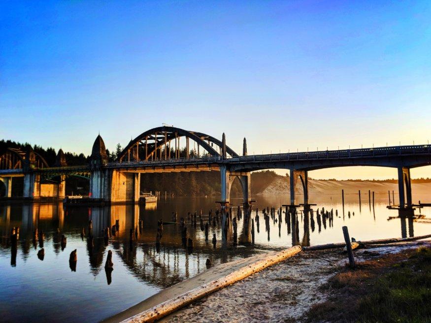 Bridge in Old Town Florence Oregon Coast 3