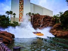 Jurassic Park river ride Universal Islands of Adventure Orlando 2