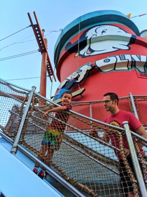 Taylor Family Popeye's Boat Toon Lagoon at Universals Islands of Adventure Universal Orlando Resort 1