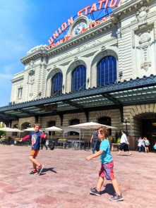 Taylor Family at Union Station Denver Colorado 1