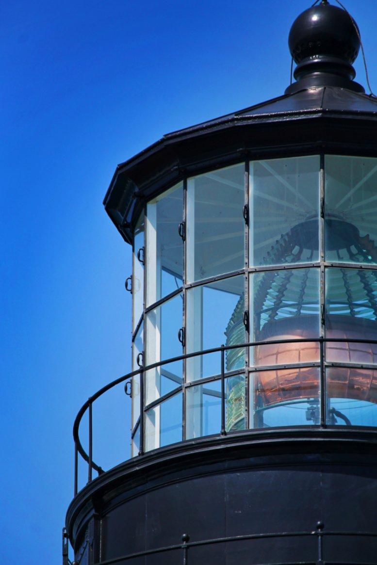 Yaquina Head Lighthouse Lantern Oregon Coast 3