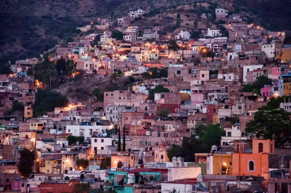 The Neighborhood Lights of Guanajuato