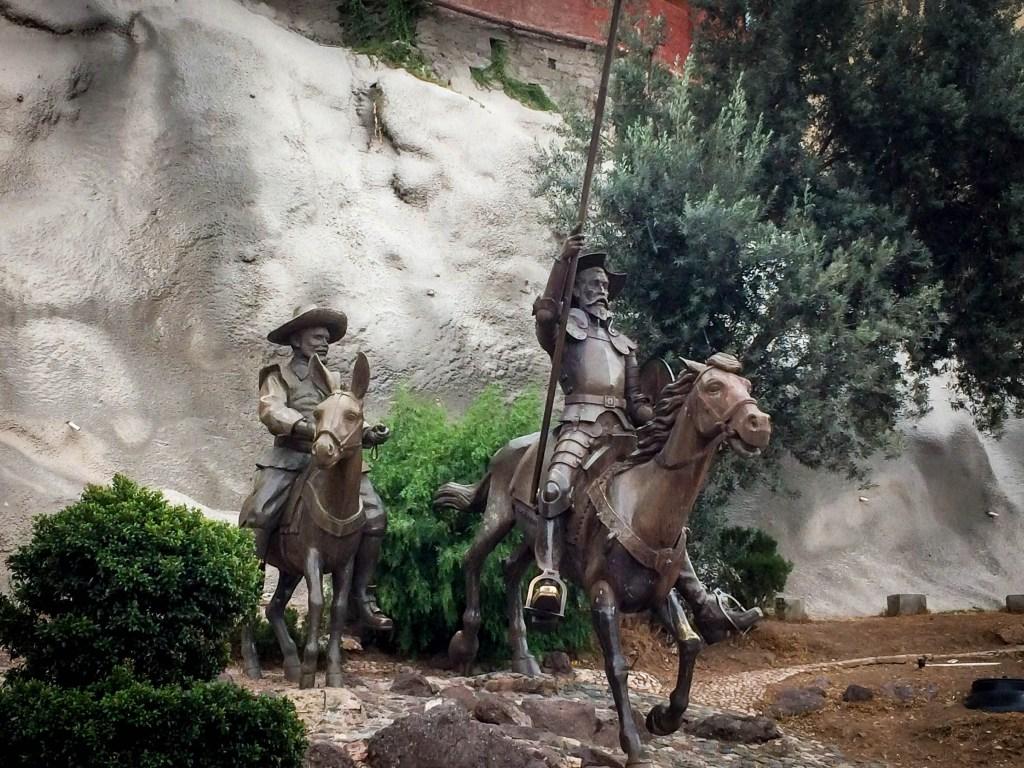 Statue of Don Quixote on Horseback