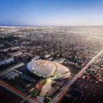Proposed Clippers Arena in city of Inglewood