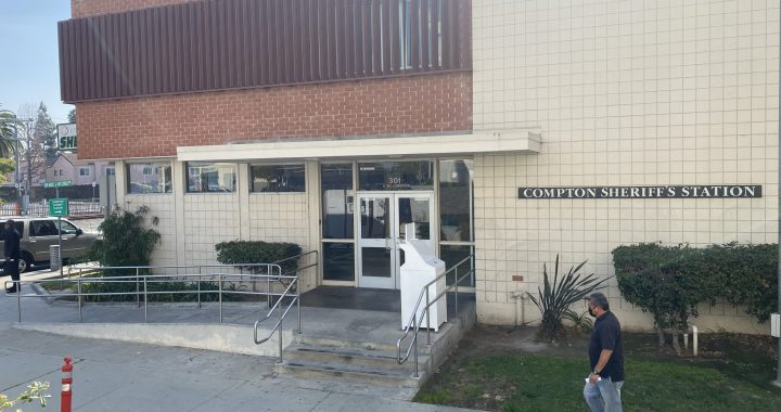 Compton Sheriff's station. (photo: 2UrbanGirls)