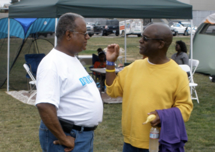 Inglewood Councilman Ralph Franklin and former 4th District Planning Commissioner Terry Leroy Coleman