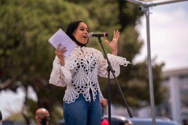 Divine Nine event organizer Sharis Rhodes (photo: city of Inglewood)