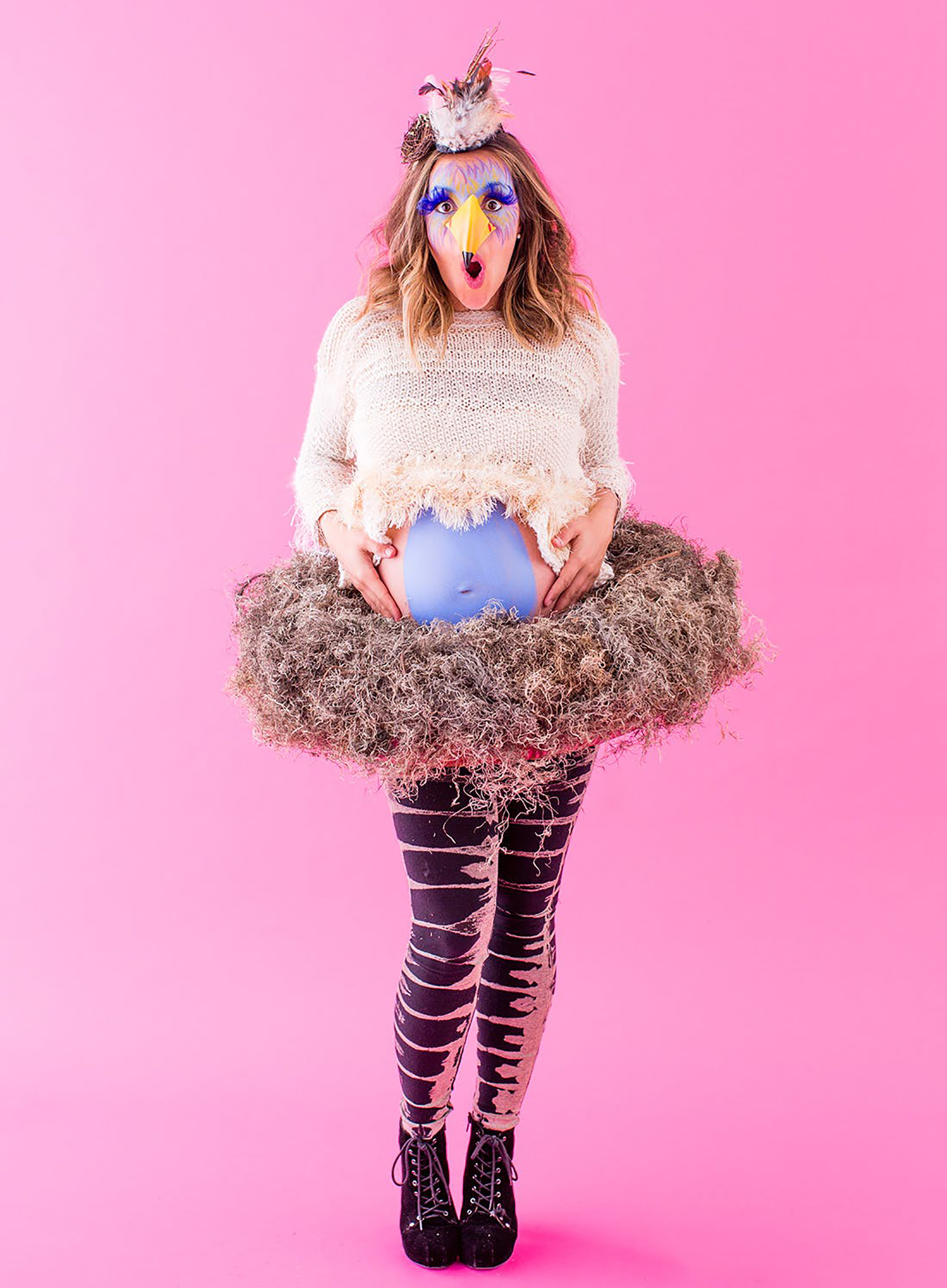 Six Diy Feather Costumes To Fly Into Halloween