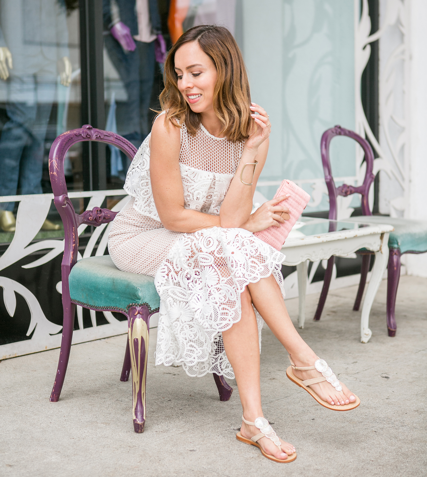 Currently Obsessing Over Fancy Flat Sandals For Summer
