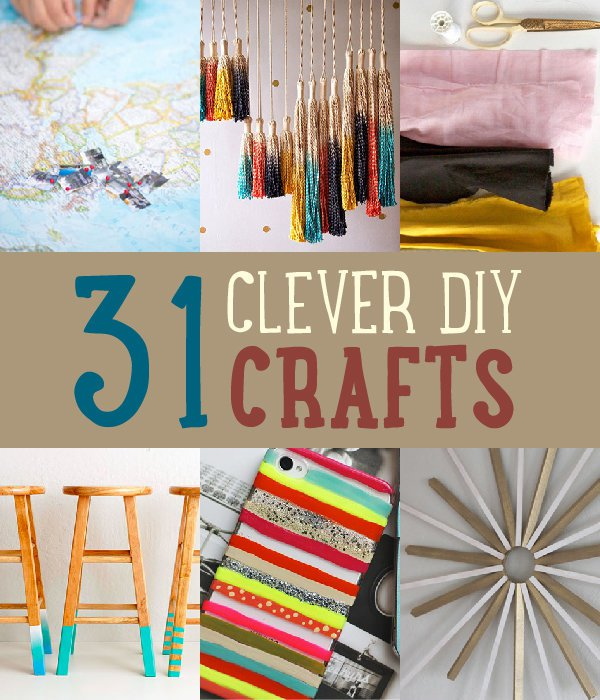 31 Easy Amp Clever DIY Crafts And Project Ideas Save On Crafts