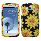 Samsung Galaxy S3 MyBat Sunflower Case