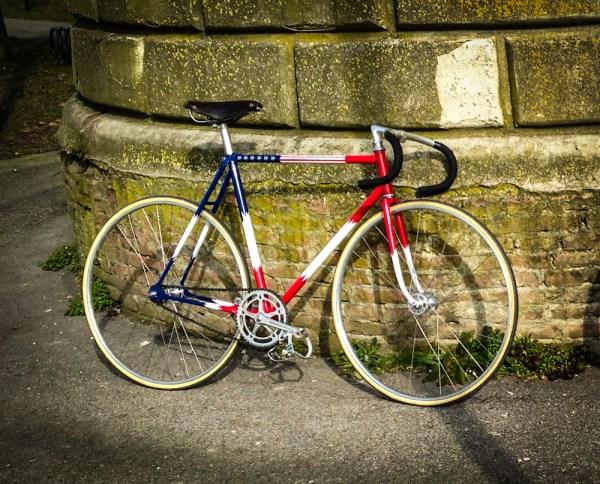 Pogliaghi Sante Milano Pista - 70s track bike, Campagnolo pista (4 of 5)