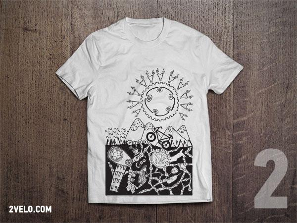T-Shirt 2velo 2