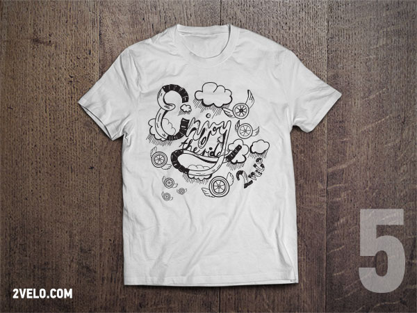 T-Shirt 2velo 5