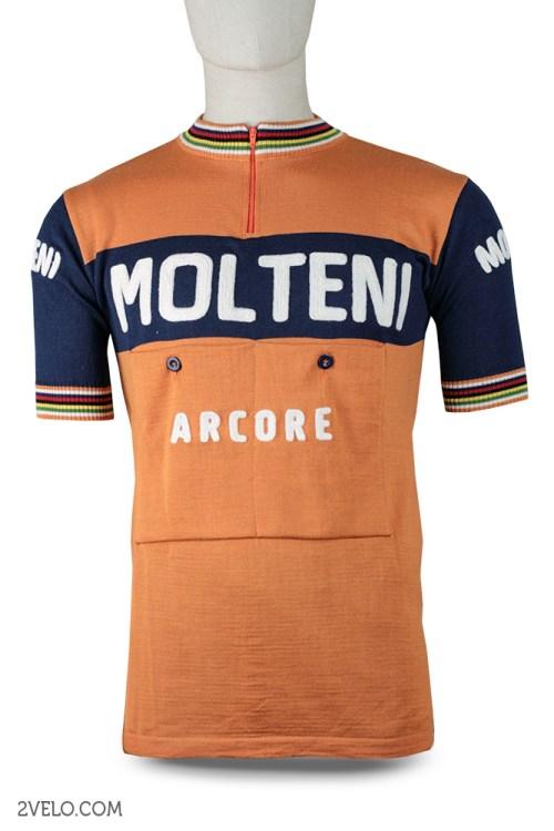 Molteni wool jersey, Eddy Merckx, vintage retro