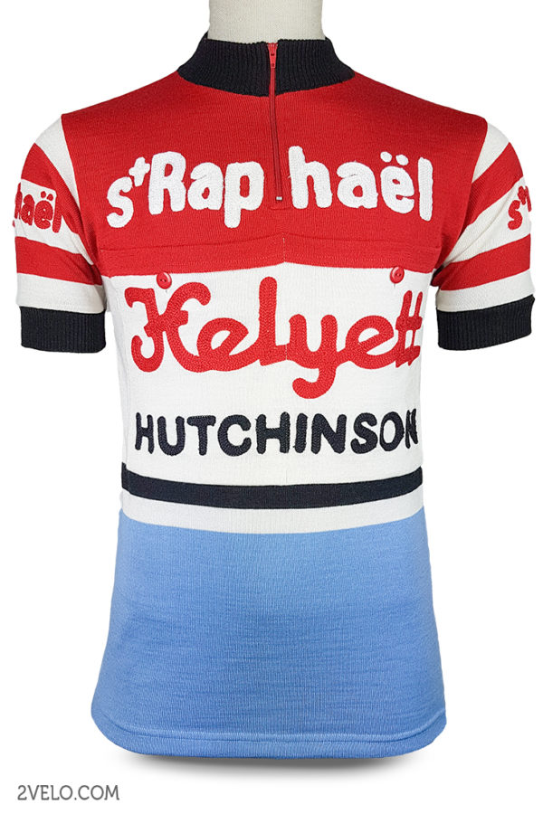 Wool cycling jersey – 2velo- St Raphael front
