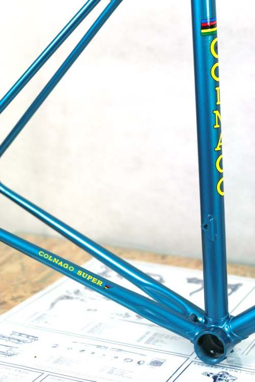 COLNAGO SUPER - frame and fork, Columbus SL