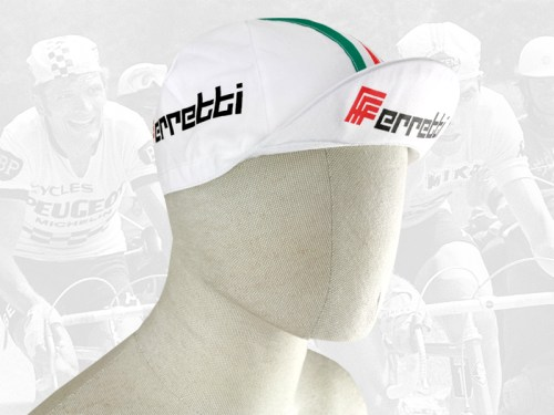 Ferretti cycling cotton cap 2VELO