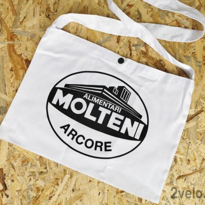 Molteni Alimentari Arcore Musete cycling bag vintage style