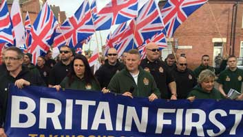 Britain First UK black