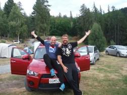 Steve Dorni (D) and Dave Wall (A)