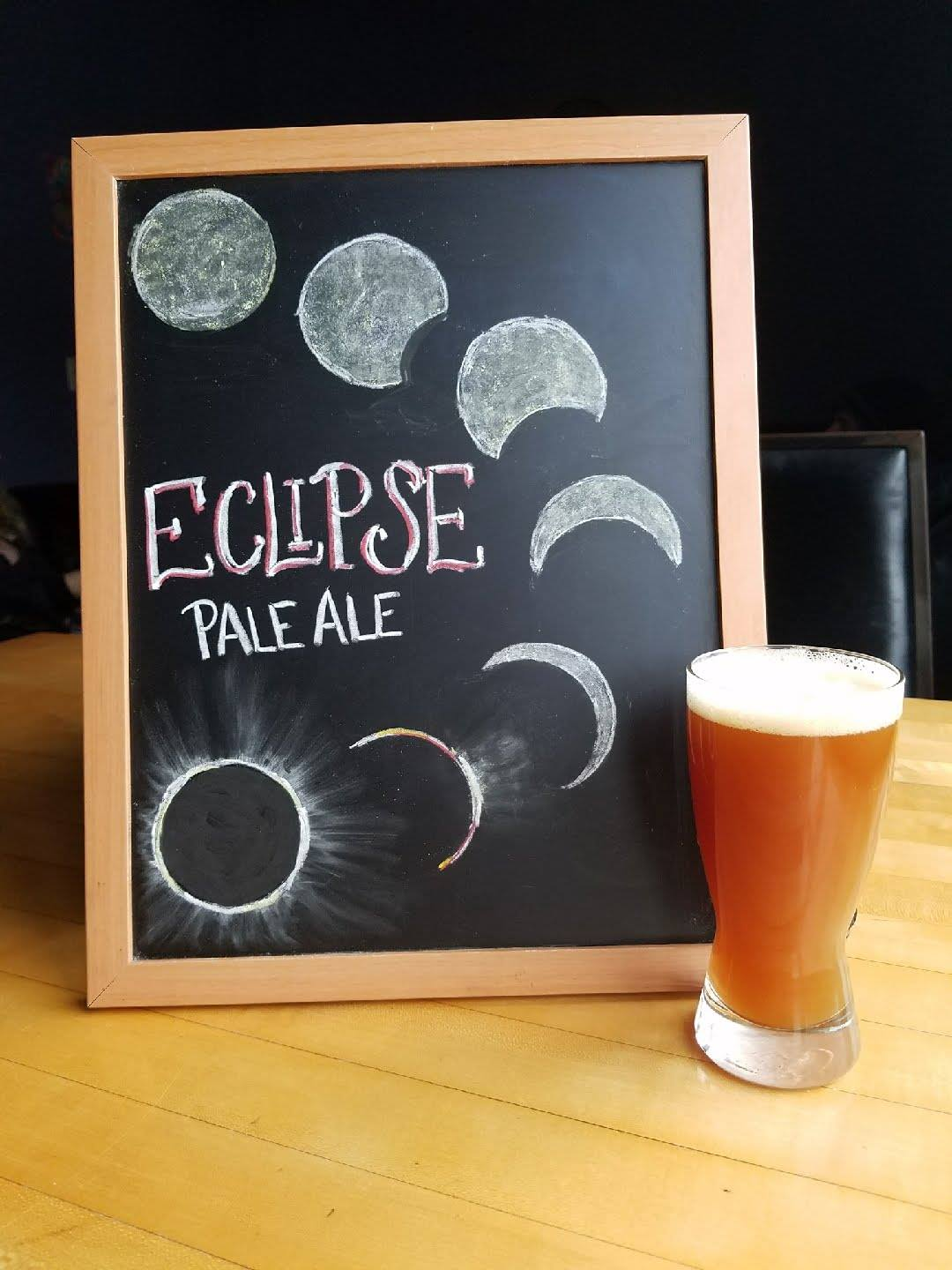 Eclipse Pale Ale sign