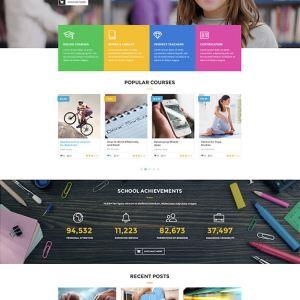 Сайт на тему образования
