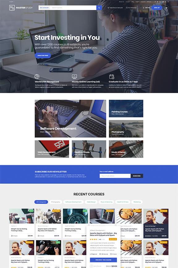 Образовательный сайт бизнес