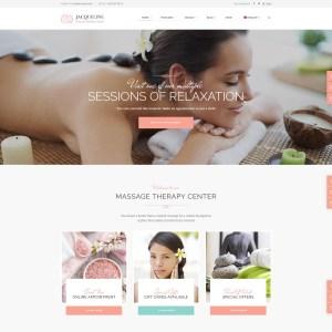 Купить готовый сайт для салона массажа