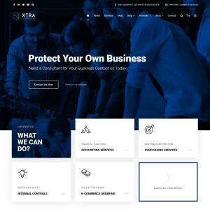 Готовый сайт для бизнеса - сайт визитка