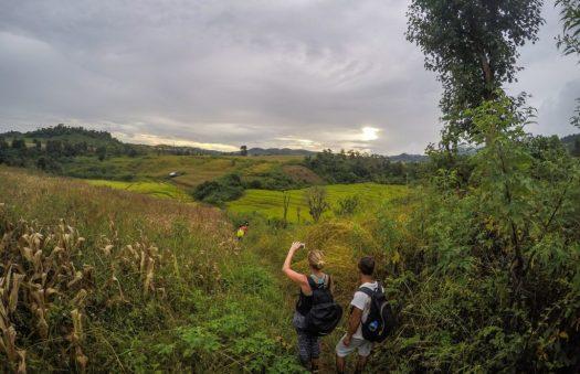 Palaung hill tribe trekking