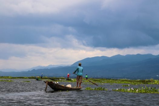 The fishermen of Inle Lake