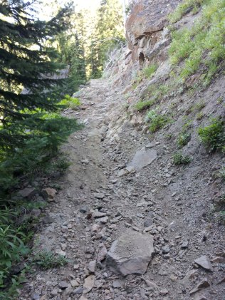 One of the worse parts of the Boundary trail.