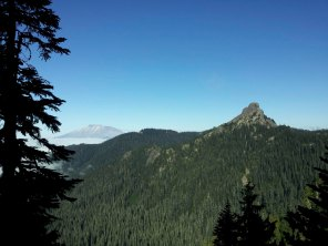 Mt. Saint Helens and Kirk Rock.