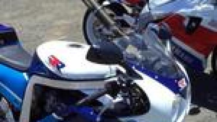 Nice Pair Mate: 1989 Suzuki GSX-R750R And 1989 Yamaha FZR750R OWO1