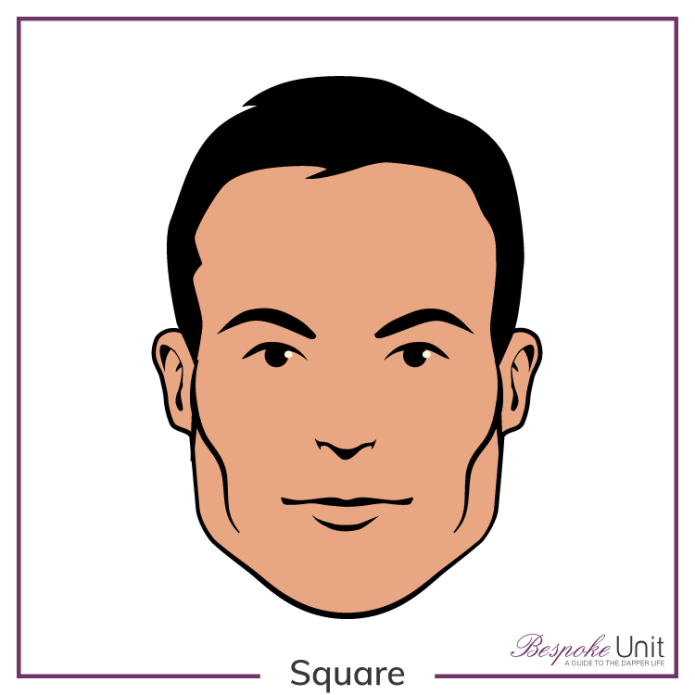 Men S Square Face Shapes Guide Best Hairstyles Beards More